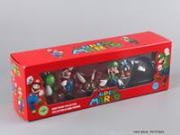 big bills - Super Mario Bros Figures Mario Luigi Bullet Bill Yoshi Goomba PVC Action Figure Model Toys Dolls set SMFG207