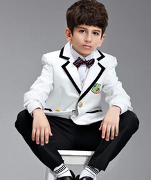Wholesale Factory Supply Boys School Uniforms Boys Formal Occasion Boys Suit Wedding Suit Tuxedo sets Fedex