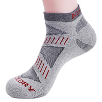 Wholesale 2 Pair Cycling Bicycle Socks Grey Color One Size Bike Socks colors Black Grey White