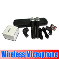 Wholesale New arrival Hot PG288 Professional wireless microphone dual channel wireless system goodgoodbusiness