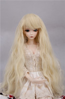 Wholesale New hot selling Bjd doll wig high temperature wire hair synthetic wig