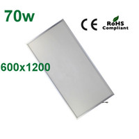 No 85-265V 3014 2pcs 70w 600x1200 high quality 2014 new style wholesale square led panel light hot sell led ceiling lamp CE Rohs FCC free shipping