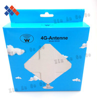 4G antenna   New high gain 4G 35DB antenna 2*TS9 connector for LTE ZTE 4G Router antenna free shipping