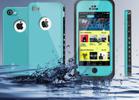 Wholesale Waterproof Case Redpepper Water Proof Case Cover Shockproof for iphone C S s iPhone s Case With Finger Print Scanner Free DHL