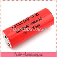 Wholesale 26650 Li ion Rechargeable Battery V mAh for Electronic Cigarette LED Torch Flashlight Digital Camera Battery