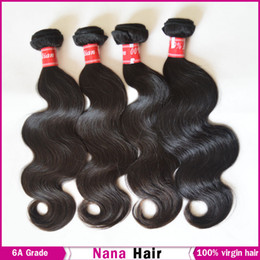 Wholesale 100 Virgin Filipino Body Wave Unprocessed Raw Human Hair Extension DHL Fast Shipping