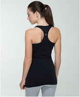 Wholesale Top Yoga Brand Lululemon Cool Racerback Tank Camis Vest Stretch And Recovery Women s Clothes Skin Touch Authentic Multi Color