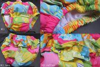 Bébé tissu réutilisable couche nappy Avis-Tissu imprimé couches couche réutilisable bébé lavable jolies impressions Mix Designs Différentes tailles S M L XL