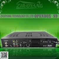 Wholesale openbox s9 twin tuner original openbox s9 hd pvr dvd s2 satellite receiver