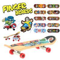 Metal finger skate board - CP9101 x2cm Finger Skate Boarding with metal wheel sets