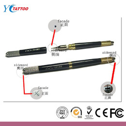 Wholesale 1PCS Permanent Makeup Manual Pen with Tattoo Blade as gift
