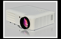 Wholesale 2014 New Full HD Projector Video home Theater D Projector Projector Home Native Free Ship