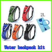 Wholesale Hydration Pack Water Rucksack Backpack Bladder Bag Cycling Bicycle Bike Hiking Climbing Pouch L Hydration Bladder Set