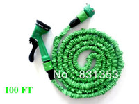 Wholesale pieces Feet Expandable Garden Water Hose Irrigation Water Pipe Green Color