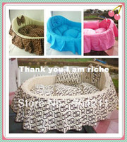 Wholesale Luxury comfortabe Pet dog cat soft princess bed three colors SML sizes free gifts