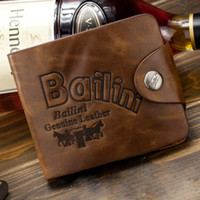 Wholesale Man s brand genuine leather men zipper pockets cards holders clutch wallet new leather purse wallets for men