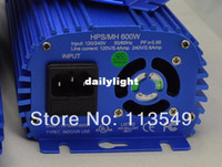 90W 600w hps mh - w dimming mh hps high pressure sodium electronic digital grow ballast with fan