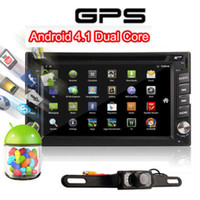 Wholesale PURE android Dual Core Car DVD Player Radio GPS WiFi Bluetooth Stereo Head unit Navigation PC TV iPod BT CD GHZ CPU MAP Camera