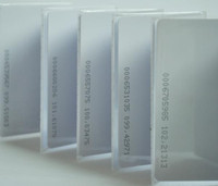 Wholesale mm blank khz ID PVC card holder
