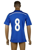 Football Club 14- 15 Home Blue Soccer Jersey, Thai Quality Cus...