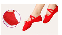Wholesale Lowest price practice yoga shoes ballet shoes dance practice shoes women shoes shoes