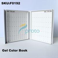 Wholesale Brand New Nail Polish Color Book UV Gel Color Card Nail Tech Book Dropshipping Retail SKU F0192