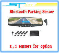 Wholesale Bluetooth Parking sensor with LCD display Supports U disk and SD MMC Card to play MP3 mini USB new