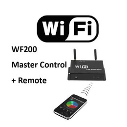 NEW PRODUCTS 5-24V RGB Color Temperature Adjustable Dimmer WIFI LED Master Controller for LED Strip Lights by Mobile Android 2.1 or IOS4.3