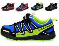 Unisex Spring / Autumn Rubber New arrival Salomon Child Sport Shoes, Boys and Girls Sneakers,Casual Athletic Shoes Children's Running Shoes for Kids, 4 Color Size:25-37