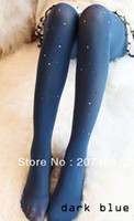 Leggings Skinny,Slim Women color translucent Rhinestone shiny thin beautiful long velvet socks pantyhose wholesale