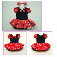 TuTu Summer A-Line Kids Best Gift Minnie Mouse Party Fancy Costume Ballet Girls Tutu Dress