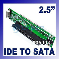 Wholesale quot HDD pin Drive Male ATA IDE to SATA Mini Adapter Converter