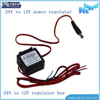 Be MassMutual to create DC24-12 Super 24V to 12V converter versatile multifunctional converter box small appliance power regulator DHL free shiping