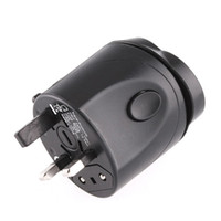 Wholesale 10pcs Universal travel power AC adapter plug AU UK US EU H783B