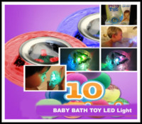Halloween   60Pcs lot Party in the tub light bathtub light-up toy Waterproof Led Light Toy PreTeens Bath Tub Tizzies T337
