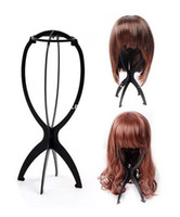 Wholesale Cool2day Folding Stable Durable Wig Hair Hat Cap Holder Stand Holder Display Tool M010766
