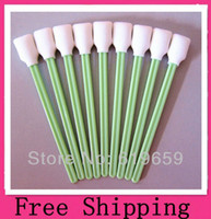 Wholesale 200 Foam Cleaning Swabs for cleaning ink jet capping stations wiper blades and print heads Foam Cleaning Sticks