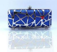 Handbags China (Mainland) Yes Shinny Evening Bag , Party Clutch bags ,Woman handbag ,Slap-up Bride Bag Purse , Wedding Purse Mini 2013 Birthday Gift EB057