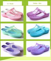 Wholesale Women s Sandals Summer Sandals Color Changed Slippers Summer Shoes Flat Heel Flip Flop Comfort Clog Size US