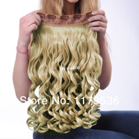 Wholesale MAYSU One Piece Long Curly Hair Extensions with Clips