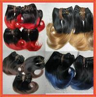beautiful wavy hair - Fast Free Dhl Shipping Cheap ombre two tone Brazilian body wavy inch human hair gram beautiful individual