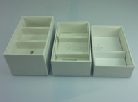 Wholesale UK US EU Version Empty Package Box for iPhone s Packing Box without Accessories EMS or DHL