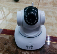 Wholesale IP Camera P2P PNP New Wireless Indoor Plug and Play Two way Audio Security Night Vision and Motion cheap and safe CCTV Camera DHL Free
