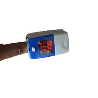 Wholesale 5 New Popular oximeter neonatal Oximeter Finger Oxymeter Blood Oxygen PR SPO2 Monitor CMS50L