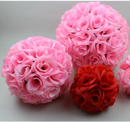 Diameter of 15 cm Artificial Encryption Rose Flower Ball Hanging Ball For Wedding Party Decoration Multi Color Choose