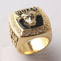 1991NBA campeón toros ventiladores conmemorativa Campeonato los anillos anillo anillo de Campeonato de la aleación del cinc