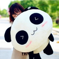Panda White Plush Free Shipping Size 55cm 2014 new Hot Sale Panda Queen Pillow Doll plush stuffed animals Birthday Gift Holiday gifts #S0392