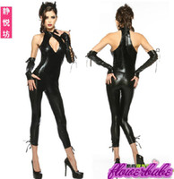 Sexy Costumes People Vampires Halloween Costumes Cosplay Siamese pants Sexy Cat girl Devil costume Queen of the Damned Costumes