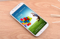 Wholesale quad core S4 i9500 phone MTK6589 air touch G G full inch IPS HD screen android gps g phone DHL Free