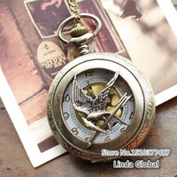 Antique Unisex Quartz Spring 2014 antique steampunk pocket watch the hunger games harry potter dive watch male clock lord of the rings pocket watch